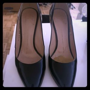 Black giuseppe heels in excellent condition.